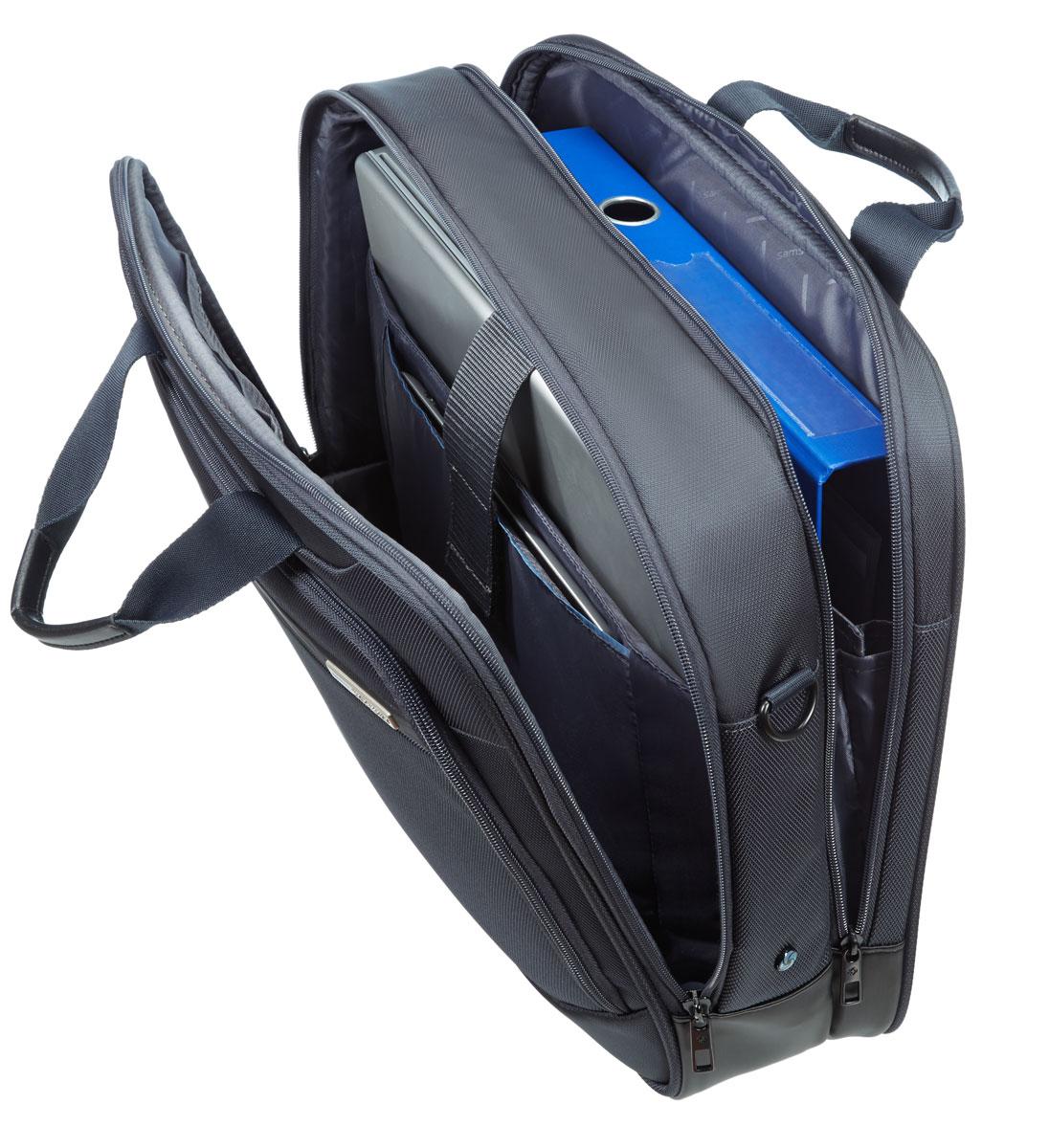 Сумка для ноутбука Samsonite GuardIt, цвет: темно-серый, 43,5 х 33 х 13,5 см сумка для документов samsonite