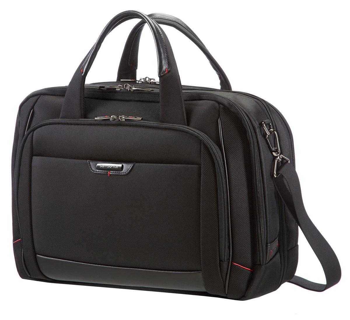 Сумка для ноутбука Samsonite GuardIt, цвет: черный, 44 х 34 х 20/24 см samsonite чемодан 4 х колесный pro dlx 5