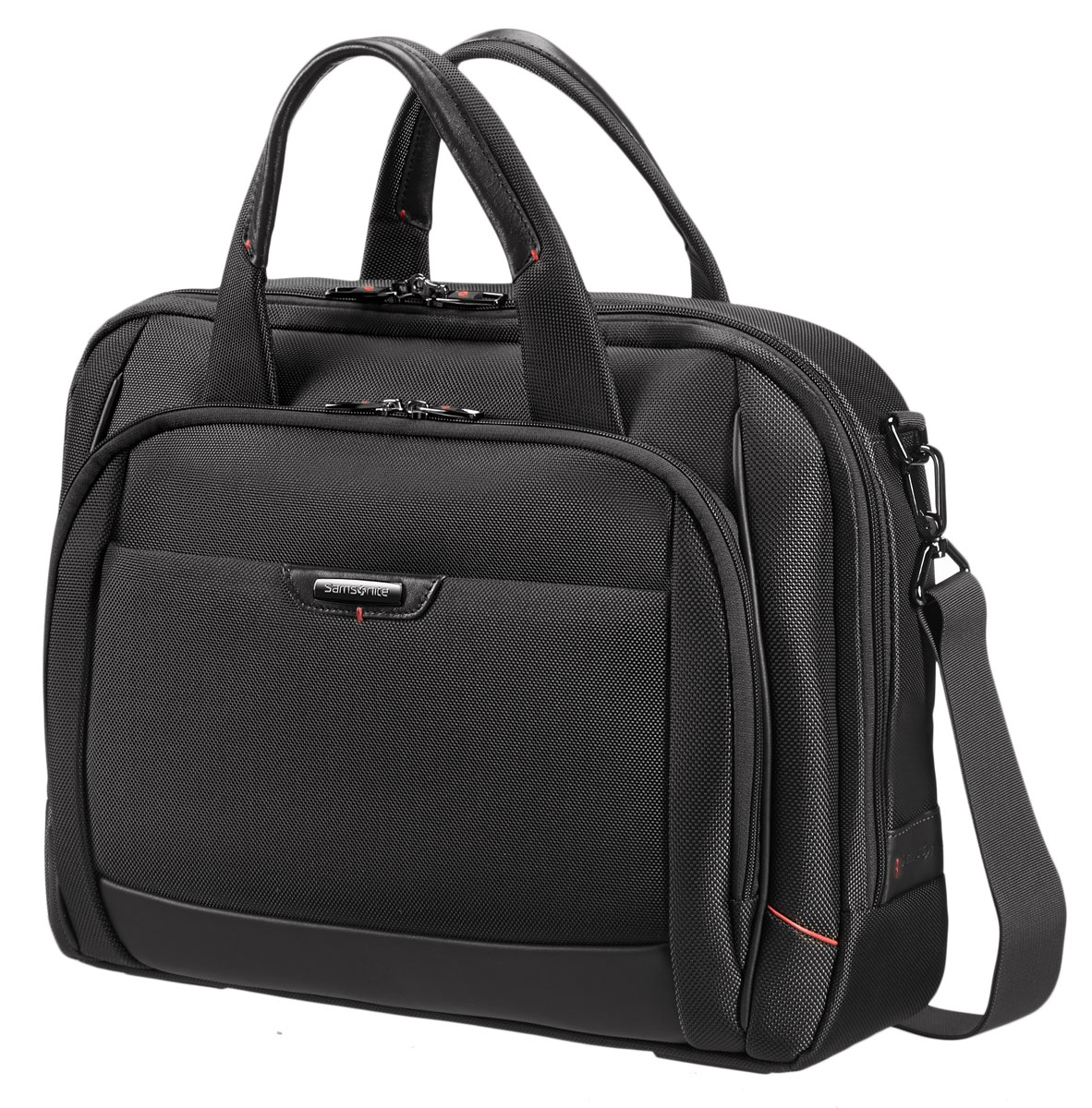 Сумка для ноутбука Samsonite, цвет: черный, 44 х 33 х 15 см сумка для документов samsonite