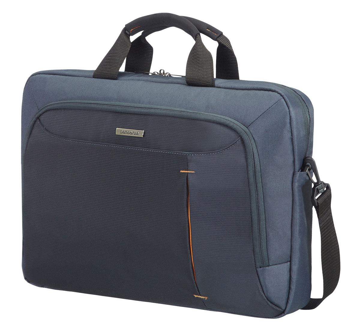 Сумка для ноутбука Samsonite GuardIt, цвет: серый, 43,5 х 30,5 х 11,5 samsonite samsonite плече сумка рюкзак apple macbook air pro компьютер мешок мужчин и женщин ноутбук сумка 13 3 дюймов bp2 28002 светло серый