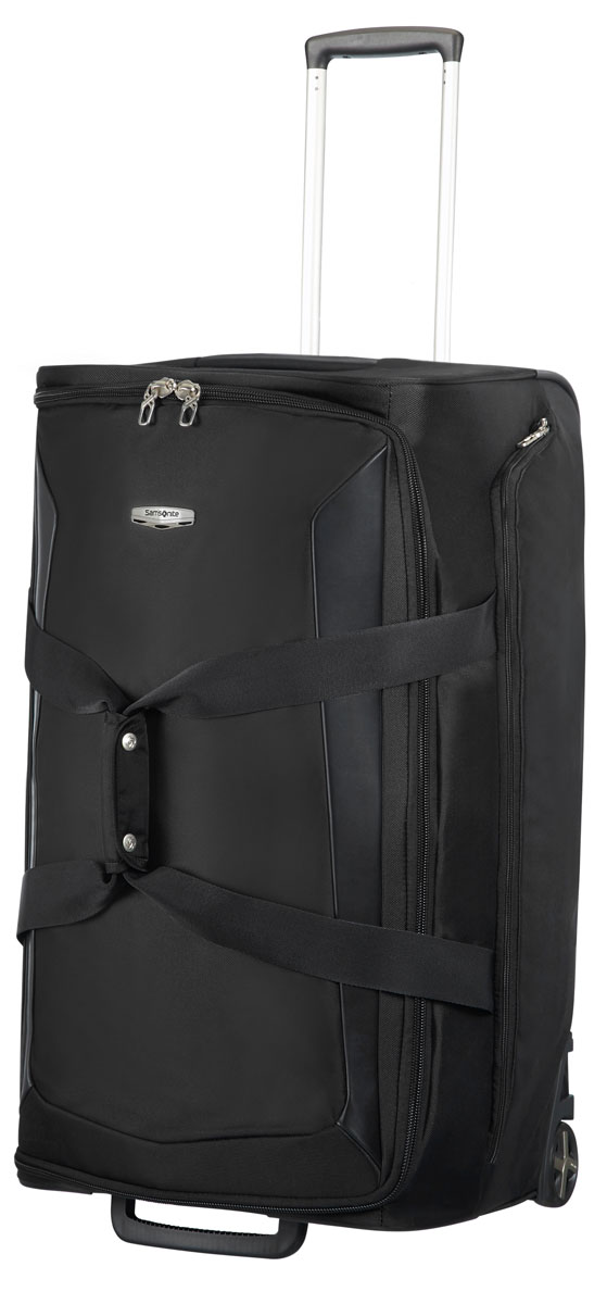Сумка-тележка Samsonite, цвет: черный, 106 л. 04N*09010 сумка женская samsonite цвет черный 93v 09010