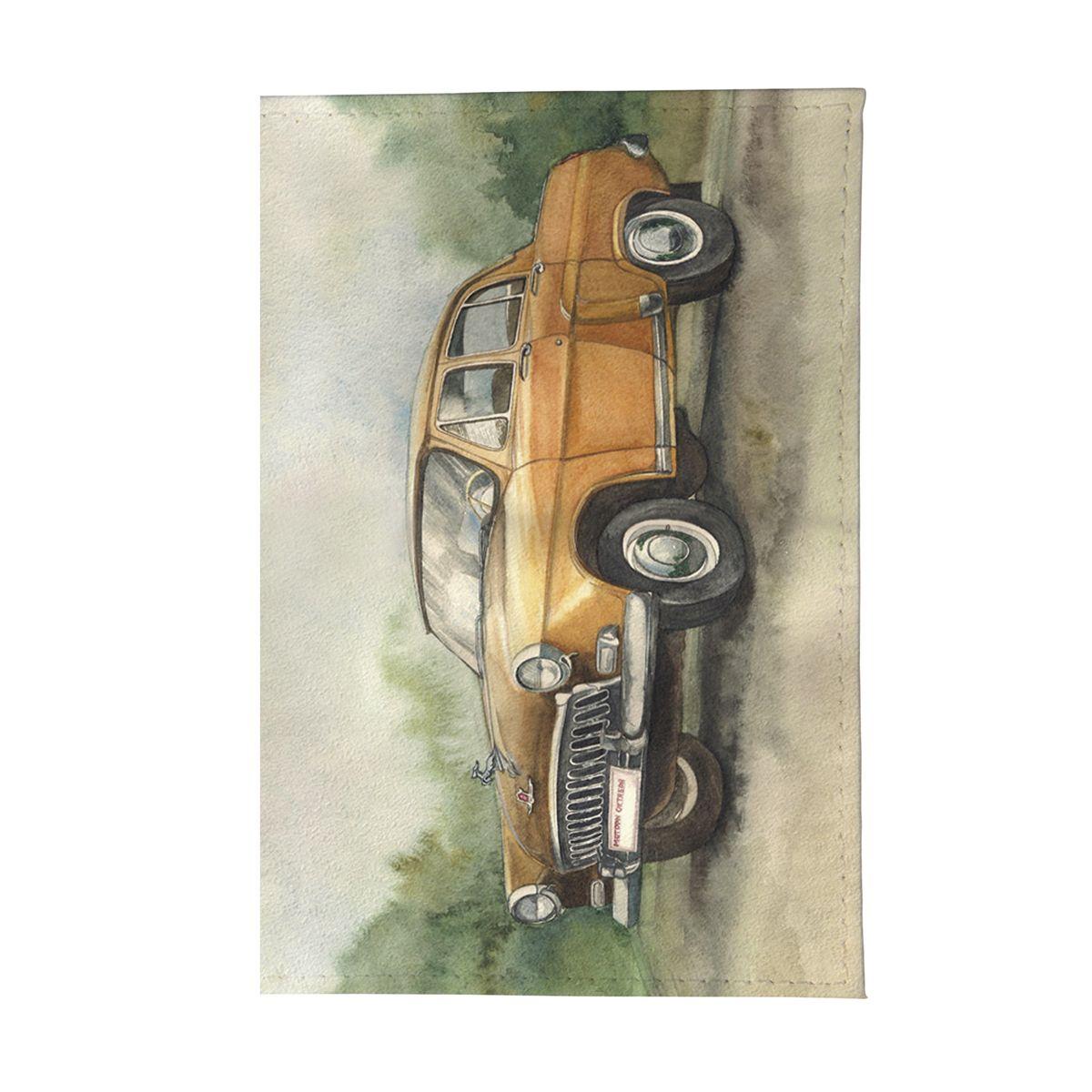 Обложка для автодокументов ГАЗ Арт. AUTO114Натуральная кожа