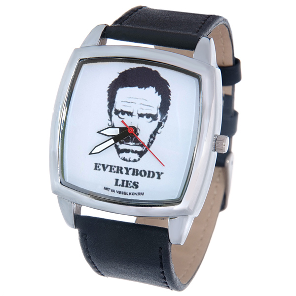 Часы Mitya Veselkov Доктор Хаус. CH-01