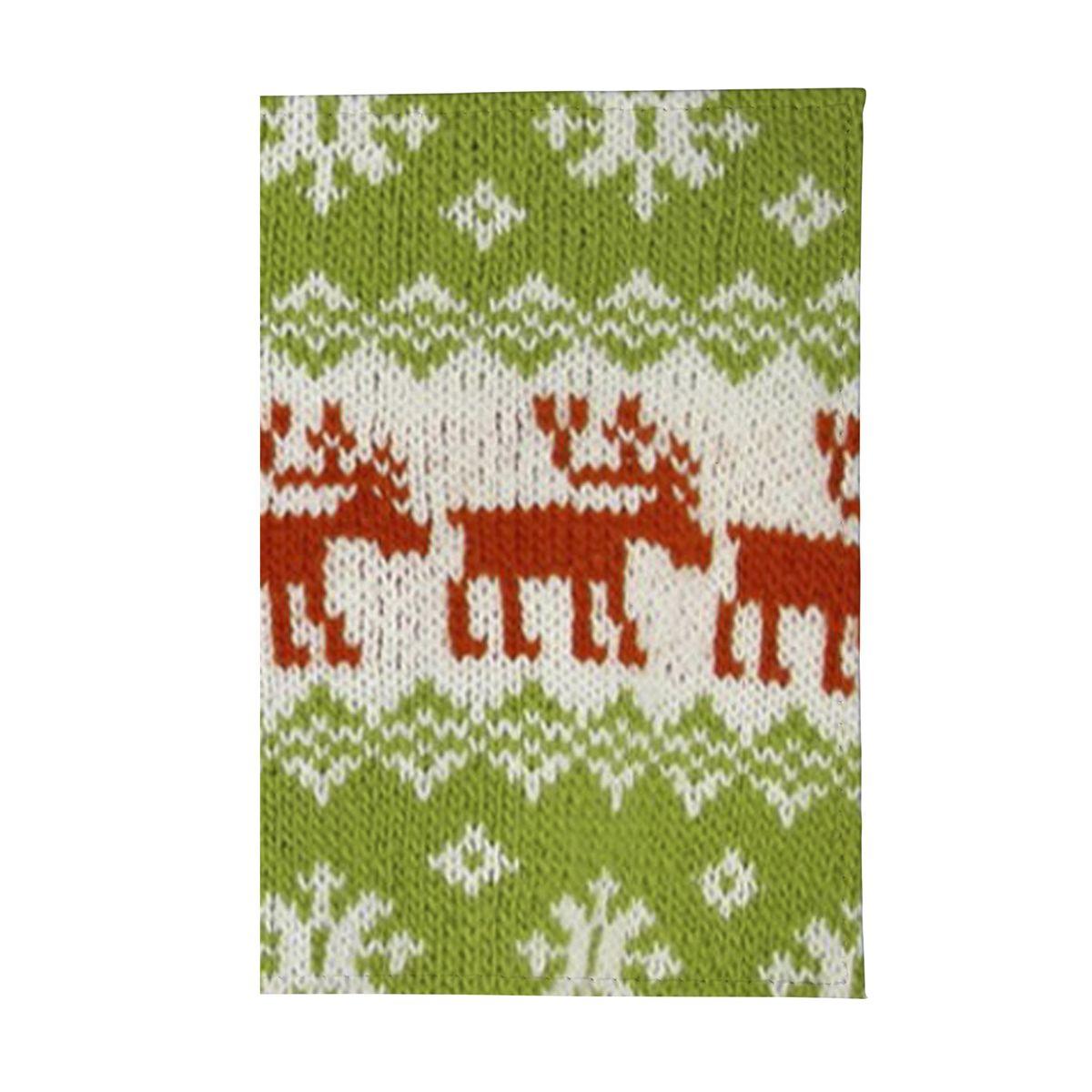 Обложка для паспорта Свитер с оленями. OZAM145