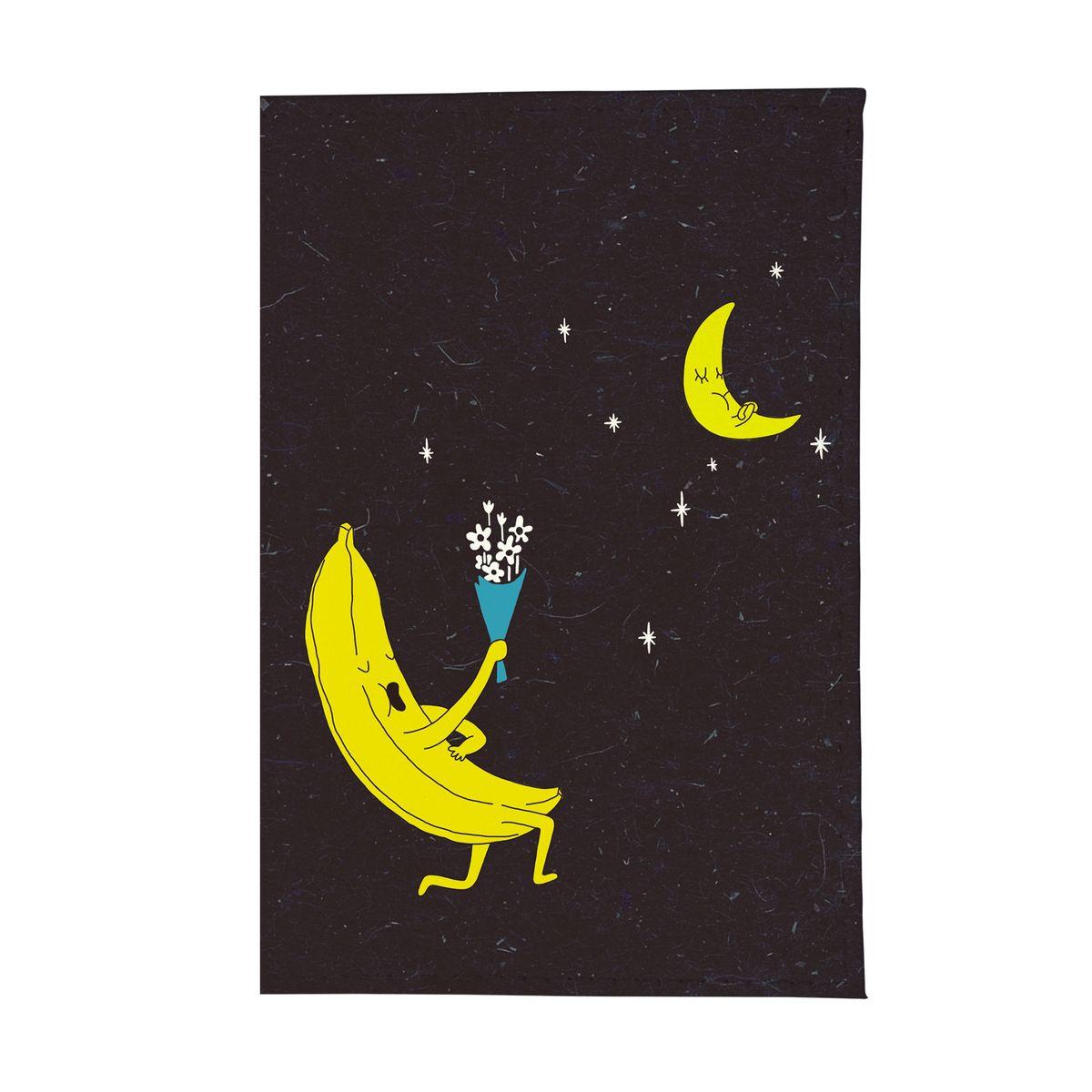 Обложка для паспорта Влюбленный банан. OZAM258ПВХ (поливинилхлорид)Стильная обложка для автодокументов Mitya Veselkov не только поможет сохранить внешний вид ваших документов и защитить их от повреждений, но и станет стильным аксессуаром, идеально подходящим вашему образу.Она выполнена из ПВХ, внутри имеет съемный вкладыш, состоящий из шести файлов для документов, один из которых формата А5.