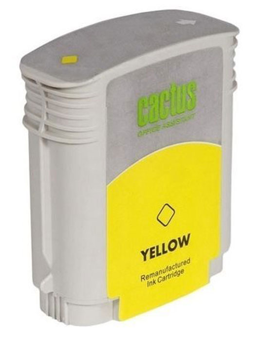 Cactus CS-C9454A №70, Yellow картридж струйный для HP DJ Z3100CS-C9454AКартридж Cactus CS-C9449A №70 для струйных принтеров HP DJ Z3100.Расходные материалы Cactus для струйной печати максимизируют характеристики принтера. Обеспечивают повышенную чёткость чёрного текста и плавность переходов оттенков серого цвета и полутонов, позволяют отображать мельчайшие детали изображения. Обеспечивают надежное качество печати.