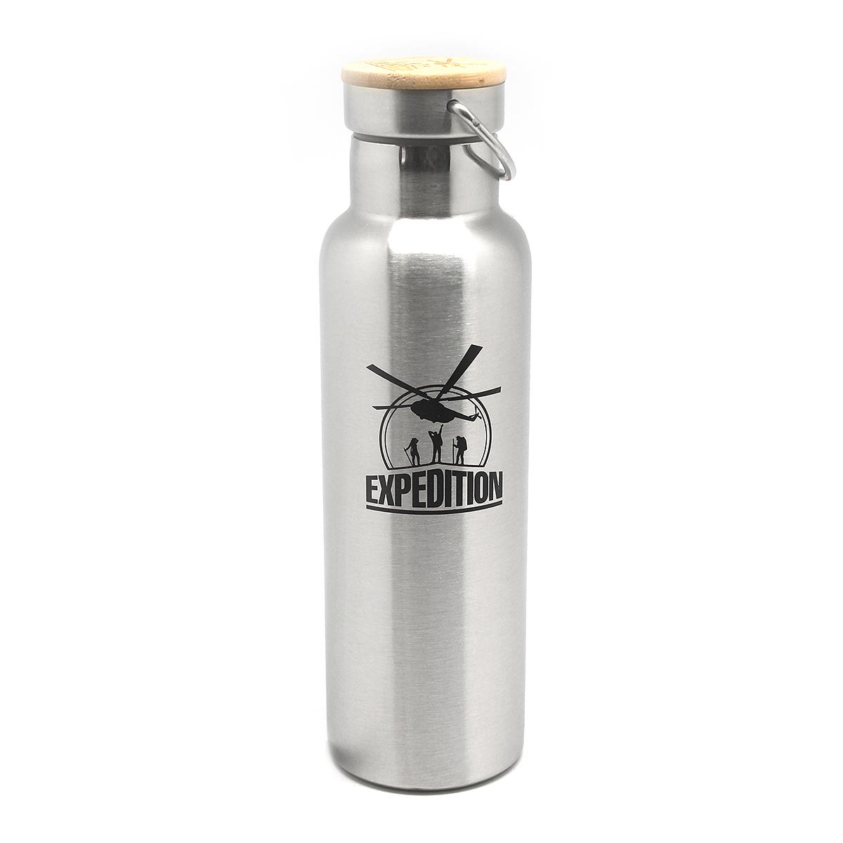 Фляга Экспедиция ЭКО, цвет: серый, 1 л купить термос из нержавейки