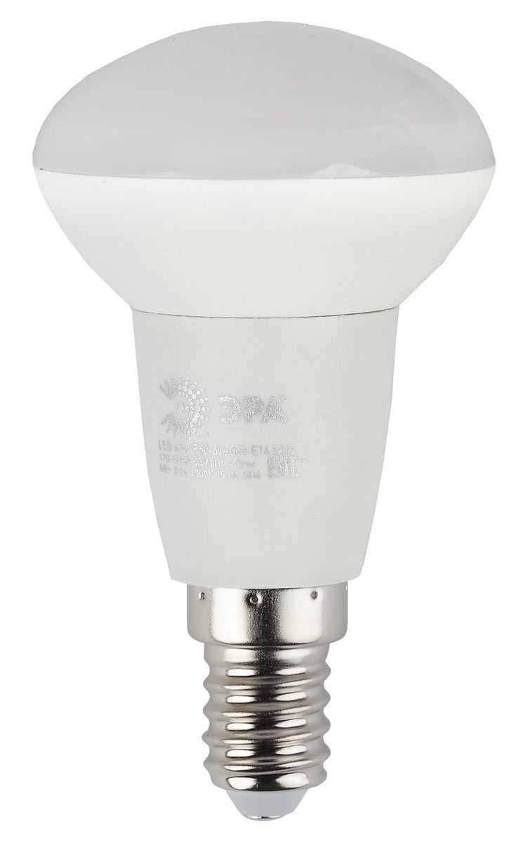 Лампа светодиодная ЭРА, цоколь E14, 170-265V, 6W, R50, 2700К5055945536614Светодиодная лампа ЭРА является самым перспективным источником света. Основным преимуществом данного источника света является длительный срок службы и очень низкое энергопотребление, так, например, по сравнению с обычной лампой накаливания светодиодная лампа служит в среднем в 50 раз дольше и потребляет в 10-15 раз меньше электроэнергии. При этом светодиодная лампа практически не подвержена механическому воздействию из-за прочной конструкции и позволяет получить любой цвет светового потока, что, несомненно, расширяет возможности применения и позволяет создавать новые решения в области освещения.Особенности серии Eco:Предназначена для обычного потребителяЦена ниже, чем цена компактной люминесцентной лампыСветовая отдача источников света - 70-80 лм/ВтСрок службы составляет 25000 часовГарантия - 1 год. Работа в цепи с выключателем с подсветкой не рекомендована.