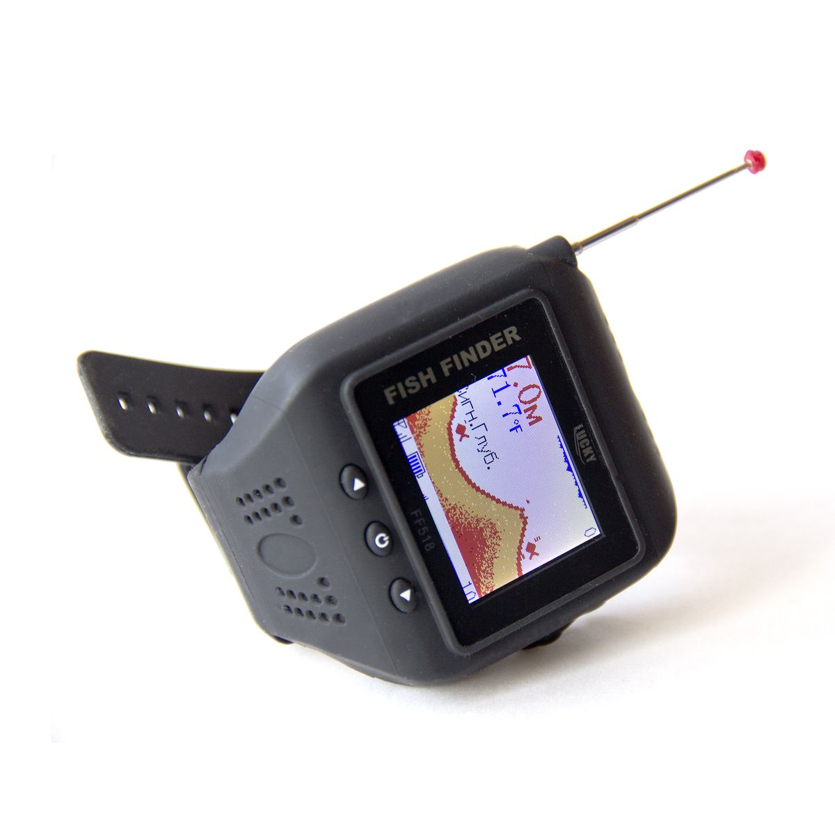 Эхолот Lucky FF518, с функцией часов - Рыбалка