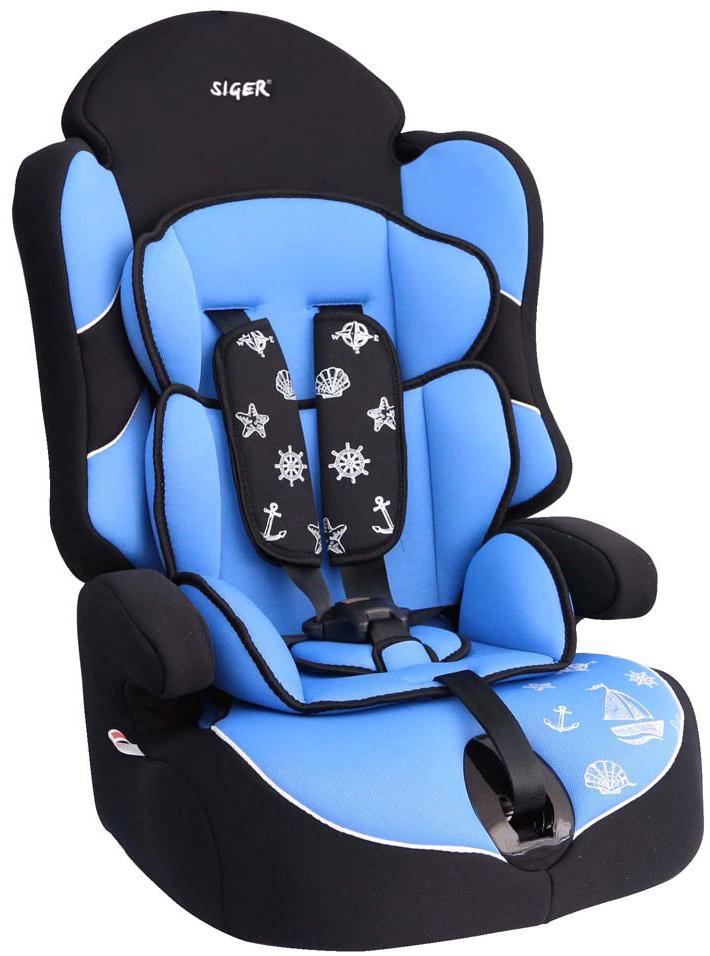 Siger Автокресло Драйв цвет голубой от 9 до 36 кг - Автокресла и аксессуары