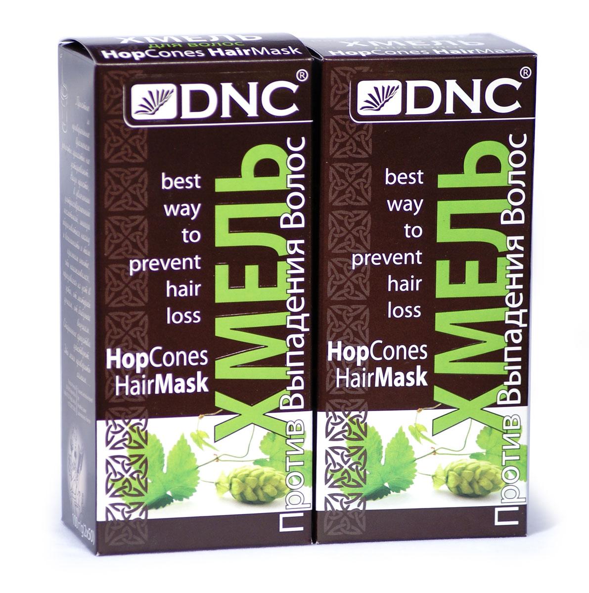 DNC Хмель для волос + Хмель для волос (2*100г) набор валик курс 2556