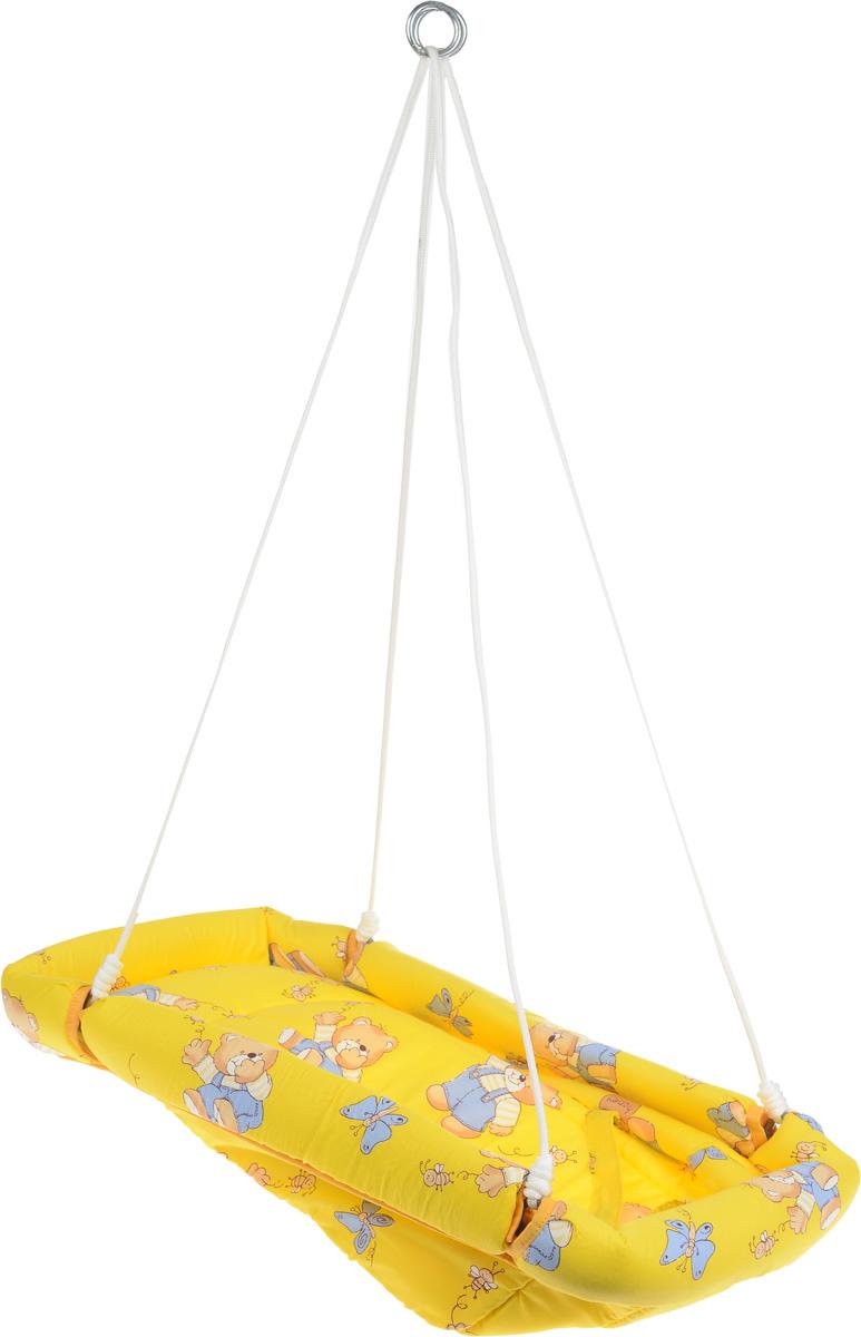 Фея Качели-гамак Комфорт Мишки и пчелы цвет желтый - Игры на открытом воздухе