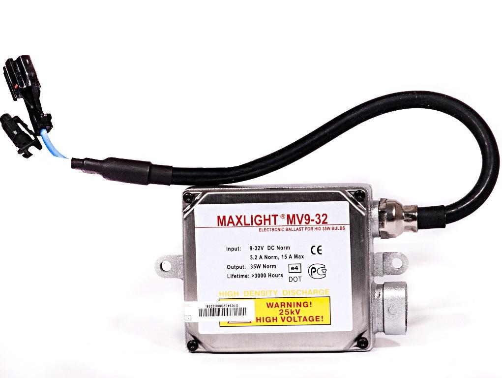 Блок высокого напряжения MaxLight M9-32BML M93 200-000Блок розжига MAXLIGHT M9-32 используется для запуска ламп ксенонового света на грузовых автомобилях. Оптимальный выбор для эксплуатации в отечественных условиях. Отличается безотказностью в работе и долгим сроком службы (2000 часов).