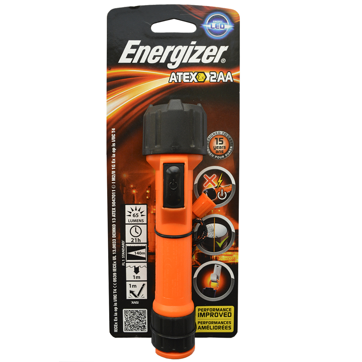 Фонарь ручной Energizer ATEX. 638574 - Фонари и лампы