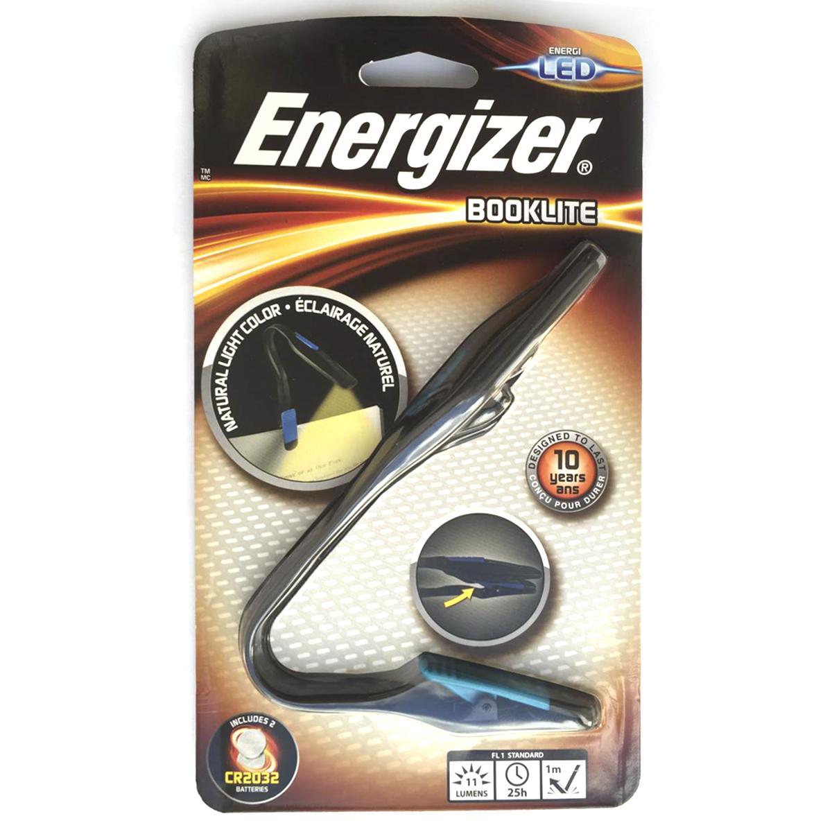 Фонарь для чтения Energizer BOOKLITE
