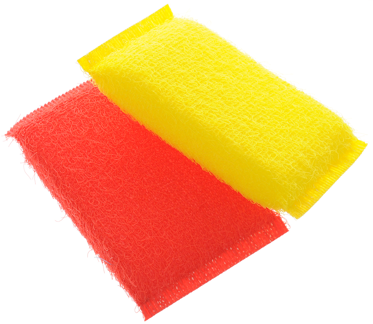 Губка для мытья посуды Хозяюшка Мила Кактус, цвет: желтый, красный, 2 шт1008_желтый, красныйНабор Хозяюшка Мила Кактус состоит из 2 губок.Губки предназначены для интенсивной чистки и удаления сильных загрязнений спосуды (противни, решетки-гриль, кастрюли). Губки сохраняют чистоту и свежесть даже после многократного применения, а ихэргономичная форма удобна для руки. Не рекомендуется использовать для посуды с антипригарным покрытием. Размер губки: 12 х 2 х 8 см.