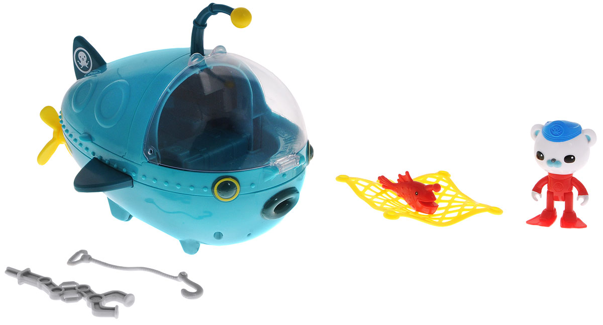 Octonauts Набор фигурок Подводная лодка Gup-A игрушка водная душ подводная лодка и кит yookidoo