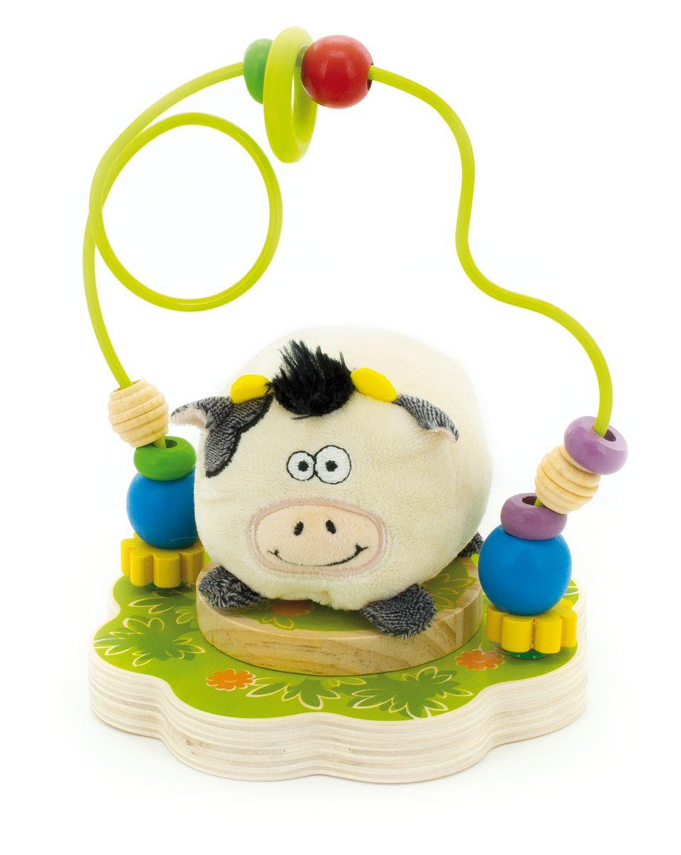 Мир деревянных игрушек Лабиринт Буренка игрушка мир деревянных игрушек лабиринт буренка д384