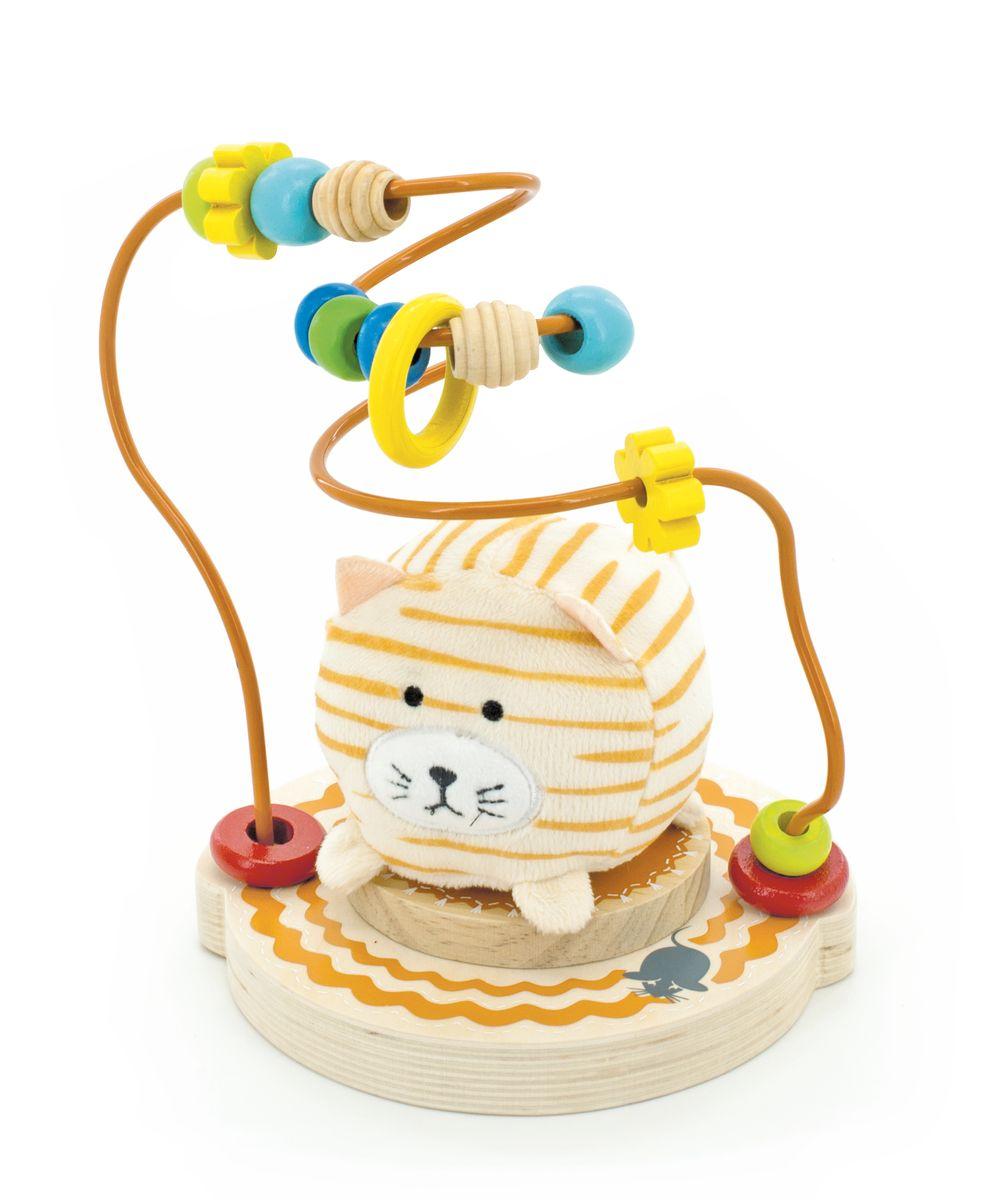 Мир деревянных игрушек Лабиринт Мурлыка игрушка мир деревянных игрушек лабиринт буренка д384