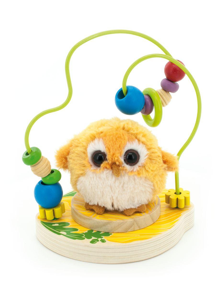 Мир деревянных игрушек Лабиринт Совушка игрушка мир деревянных игрушек лабиринт буренка д384