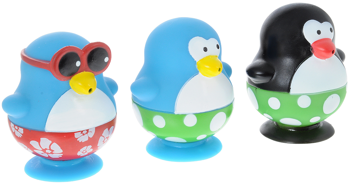 Toy Target Набор игрушек для ванной Пингвины 3 шт