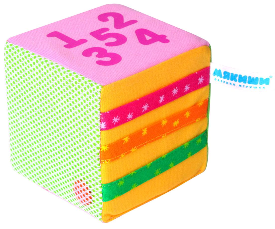 кубик 3d т57365 Мякиши Развивающая игрушка Математический кубик