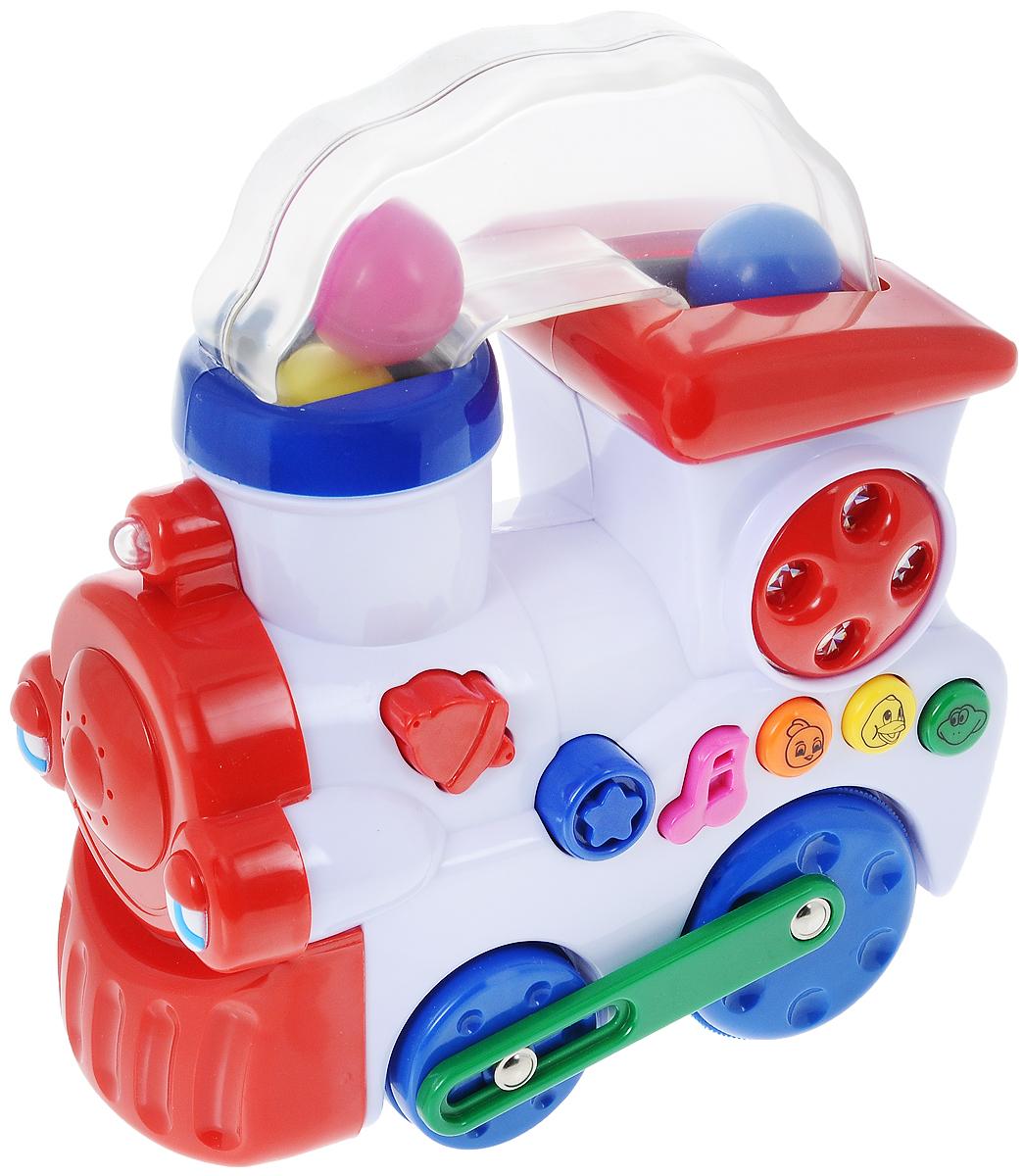 Navystar Развивающая игрушка Музыкальный паровозик малышарики развивающая игрушка питомец цыпленок