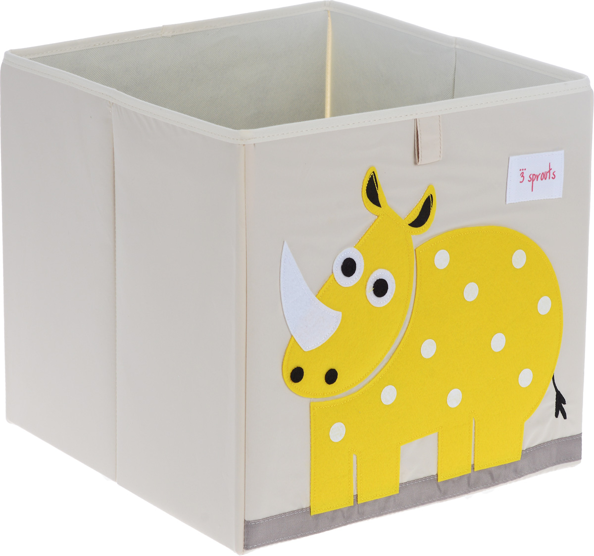 3 Sprouts Коробка для хранения Носорог
