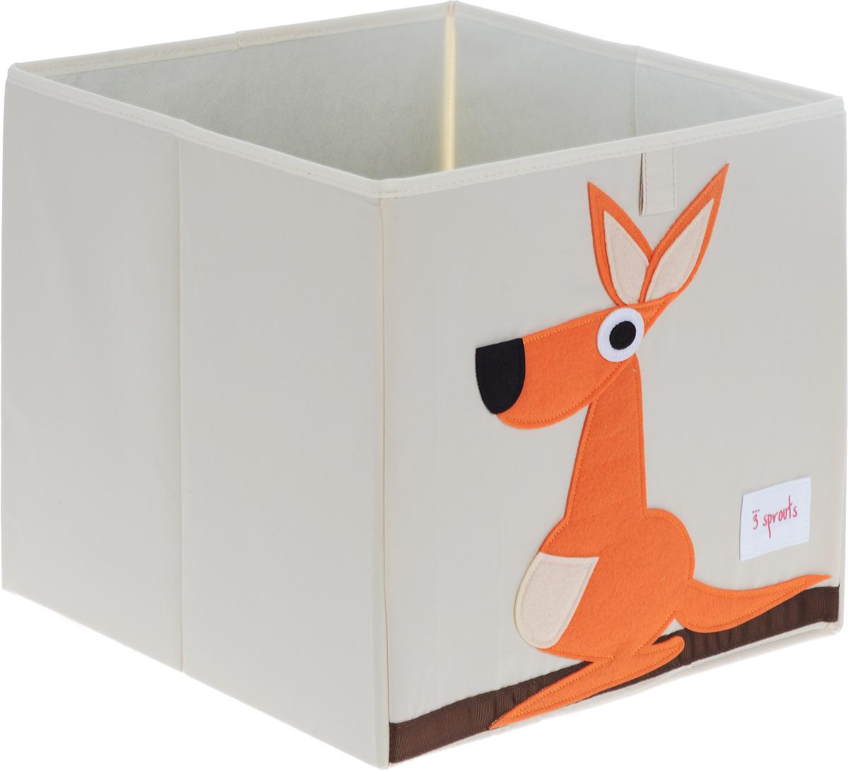 3 Sprouts Коробка для хранения Кенгуру