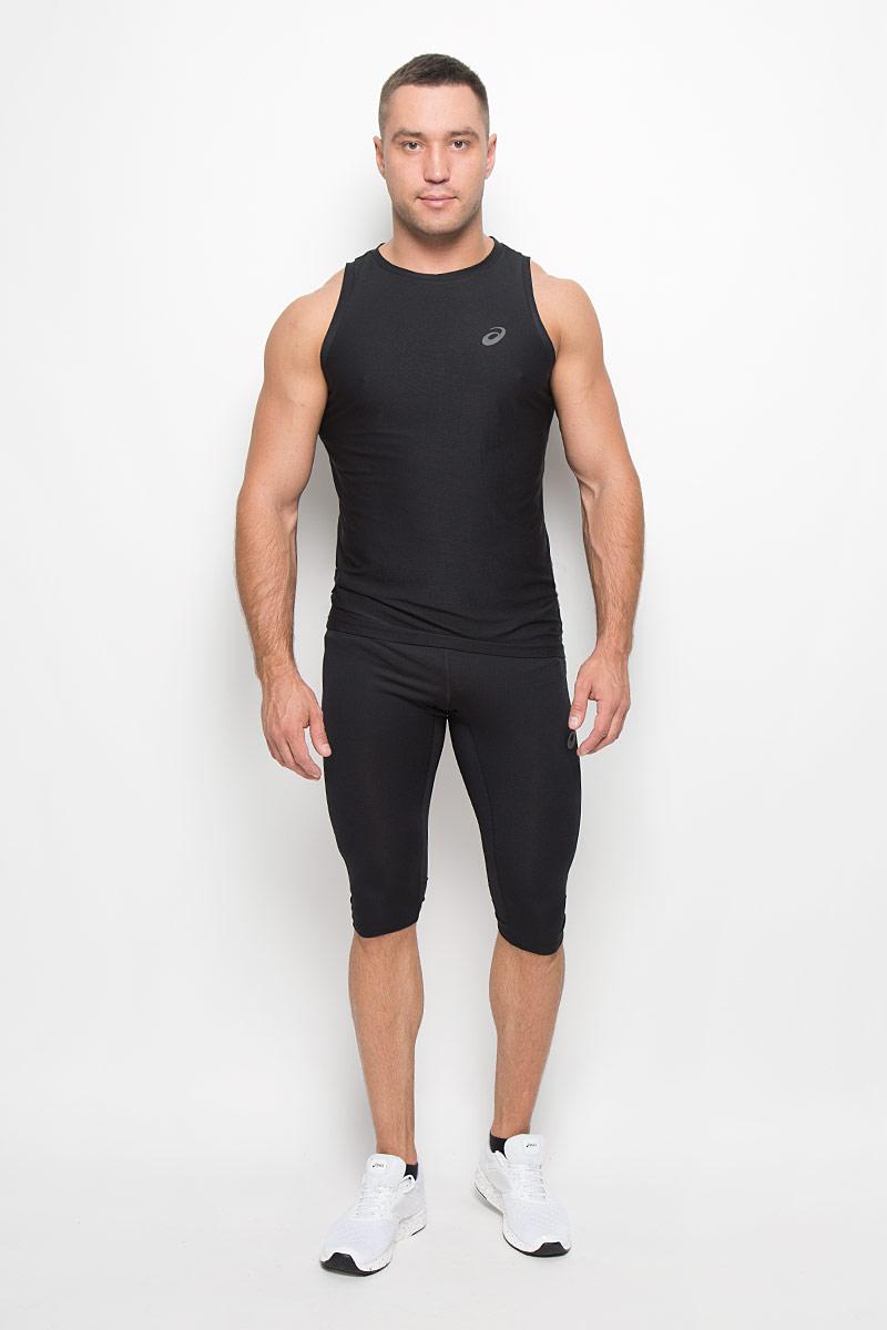 Тайтсы мужские Asics Knee Tight, цвет: черный. 134096-0904. Размер XXL (52) тайтсы asics тайтсы base tight gpx