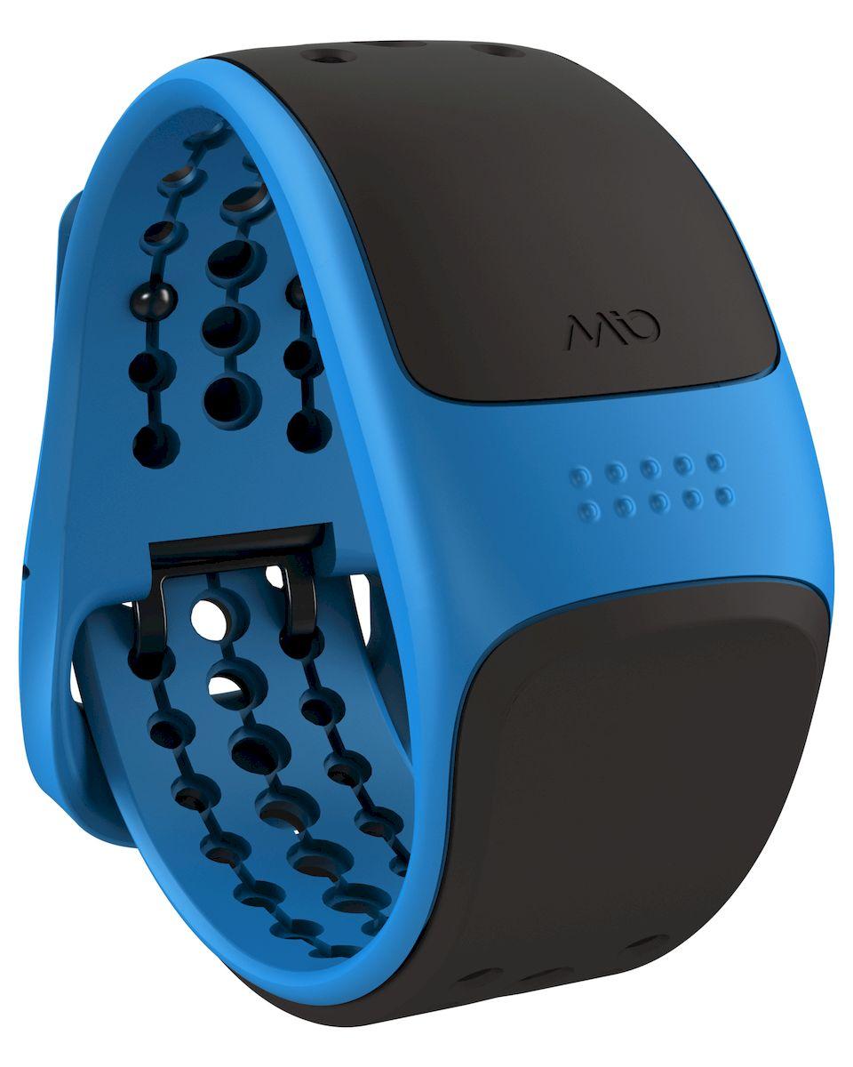 """Пульсометр Mio Global """"Velo"""" - это продвинутая версия Mio Global """"Link"""" для велосипедистов. Он принимает данные с датчиков скорости и каденса по протоколу ANT+, и далее, по протоколу Bluetooth Smart (Bluetooth 4.0) передает эти данные и динамику пульса с встроенного сенсора на совместимые устройства - смартфоны с фитнес-приложениями или совместимые GPS-часы.  Особенности: - Датчик пульса (MIO Optical Heart Rate Technology), - Подключается к смартфону по Bluetooth Smart (Bluetooth 4.0), - Возможность подключения велосипедных датчиков по ANT+ , - Водонепроницаемость - 30 метров, - RGB-светодиод, индицирующей одну из пяти пульсовых зон, - Аккумулятор: 1 месяц с выключенным пульсометром / 8 часов в режиме тренировки, - Совместимость: iPhone & Android, Bluetooth Smart совместимые GPS-часы, велокомпьютеры и другое спортивное оборудование, - Собственнные приложения и популярные сторонние (Runkeeper, Endomondo, Nike+, Adidas, Runtastic и другие).    Как начать бегать: советы тренера. Статья OZON Гид"""