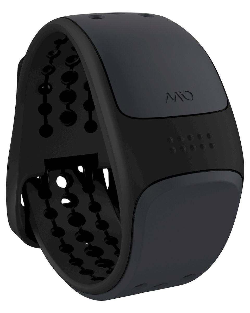 Пульсометр Mio Global Link, цвет: черный, темно-серый. 56P-GRY-L56P-GRY-LПульсометр Mio Global Link - запястный пульсометр, обеспечивающий точность ЭКГ и работающий с самыми популярными смартфонами и фитнес-приложениями, спортивными часами, велокомпьютерами и другим фитнес-оборудованием, поддерживающим связь по Bluetooth Smart (Bluetooth 4.0) и ANT+.Особенности:- Датчик пульса (MIO Optical Heart Rate Technology),- Подключается к смартфону по Bluetooth Smart (Bluetooth 4.0),- Возможность подключения по ANT+ к совместимому спортивному оборудованию,- Водонепроницаемость - 30 метров,- RGB-светодиод, индицирующей одну из пяти пульсовых зон,- Аккумулятор: 1 месяц с выключенным пульсометром / 8 часов в режиме тренировки,- Совместимость: iPhone & Android, GPS-часы, велокомпьютеры и другое спортивное оборудование,- Собственные приложения и популярные сторонние (Runkeeper, Endomondo, Nike+, Adidas, Runtastic и другие).