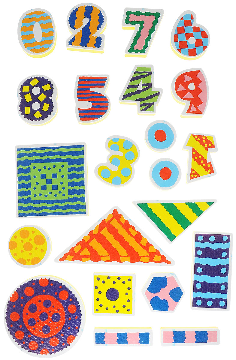 Alex Toys Набор игрушек для ванной Цифры 22 шт игрушки для ванны tolo toys набор ведерок квадратные