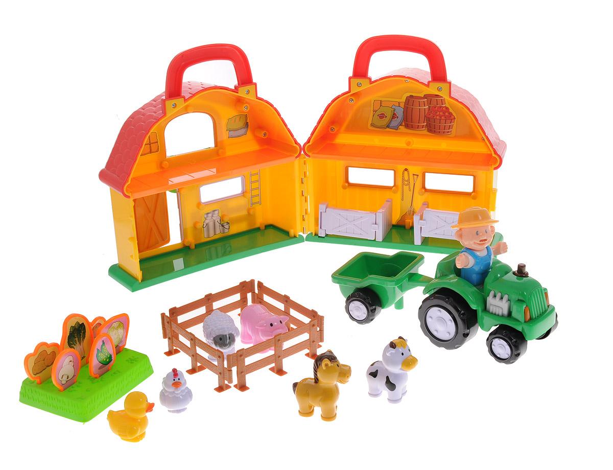 Navystar Игровой набор Ферма tomy игровой набор приключения трактора джонни и поросенка на ферме с 18 мес