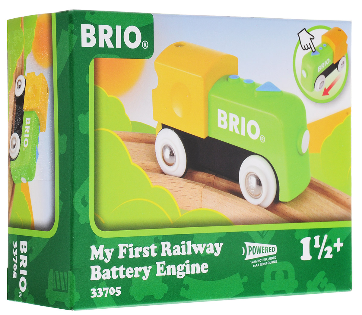 Brio Игрушка Мой первый паровозик игрушка электронная развивающая мой первый ноутбук