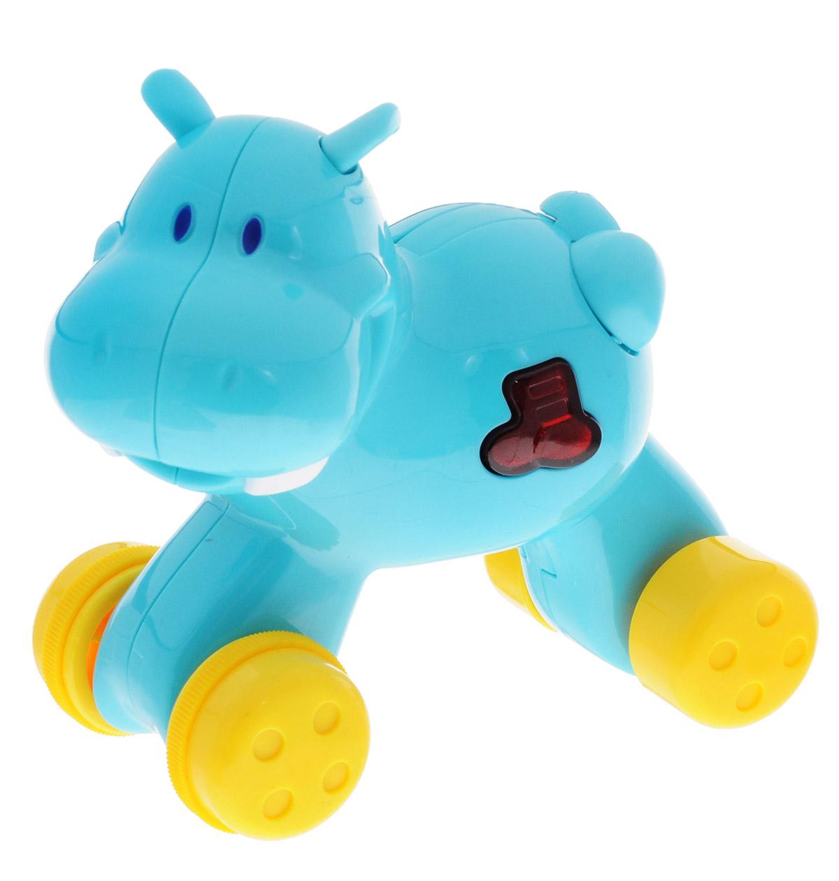 Navystar Музыкальная игрушка-каталка Бегемот музыкальная игрушка удивительный гриб babybaby в смоленске