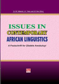 Issues in Contemporary African Linguistics bracketing linguistics