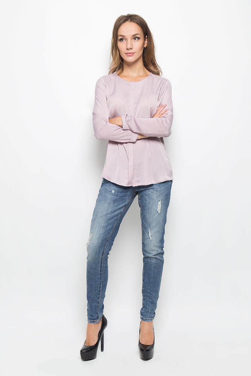 Джинсы женские Baon, цвет: синий. B306508. Размер 27 (44)B306508_Navy DenimМодные женские джинсы Baon станут отличным дополнением к вашему гардеробу. Изготовленные из хлопка с добавлением полиэстера и эластана, они приятные на ощупь, не сковывают движения и хорошо пропускают воздух.Джинсы-бойфренды застегиваются на металлическую пуговицу и имеют ширинку на застежке-молнии. На поясе предусмотрены шлевки для ремня. Спереди расположены два втачных кармана и один маленький накладной, а сзади - два накладных кармана. Изделие оформлено эффектом искусственного состаривания денима.Современный дизайн и расцветка делают эти джинсы стильным предметом женской одежды. Это идеальный вариант для тех, кто хочет заявить о себе и своей индивидуальности!