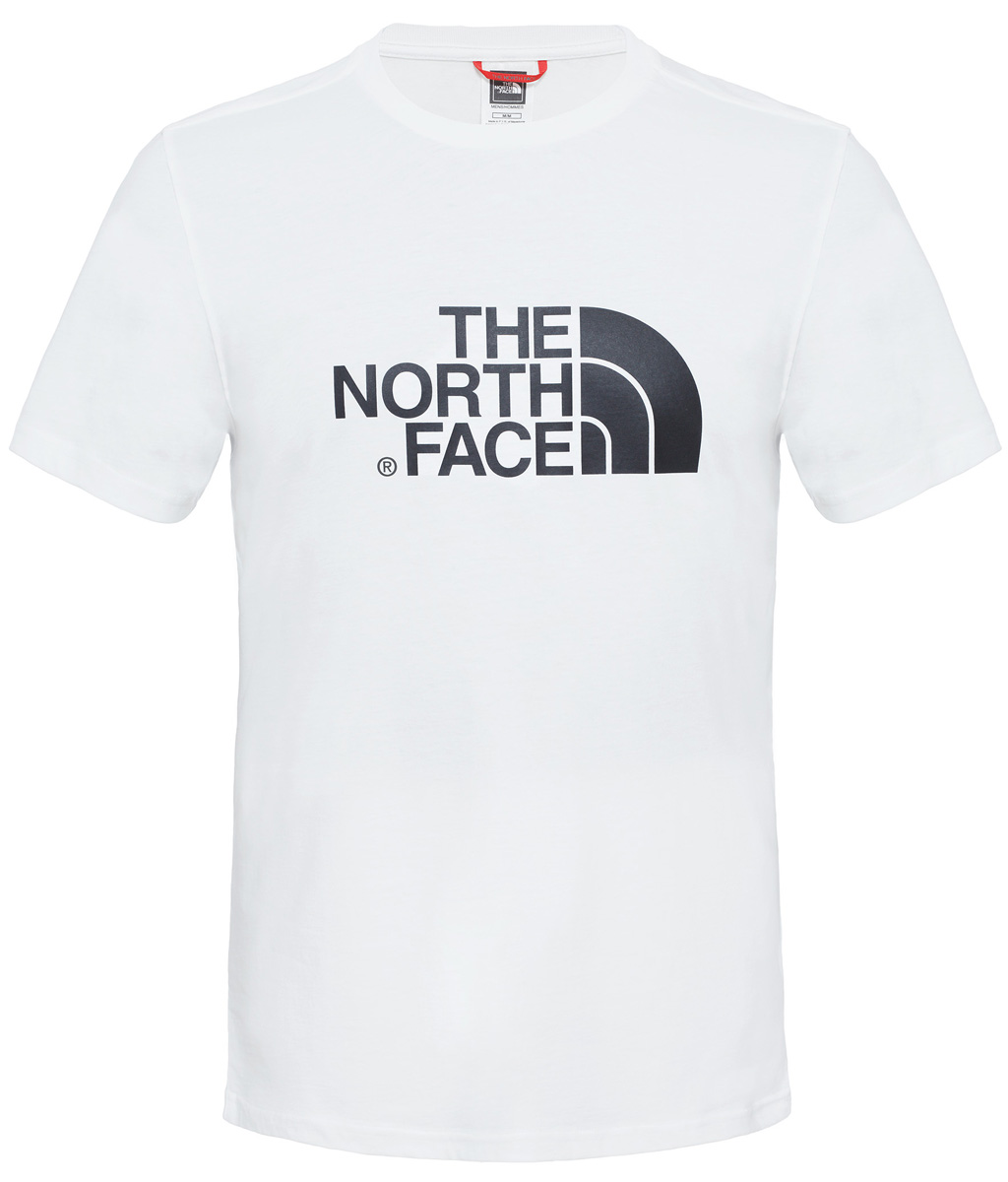 Футболка мужская The North Face M S/S Easy Tee, цвет: белый. T92TX3FN4. Размер XL (54) футболка the north face the north face youth short sleeve easy tee детская