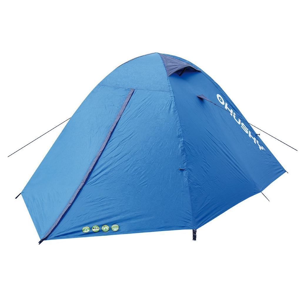 Палатка туристическая Husky Bird 3, цвет: синийУТ-000046943Палатка Bird 3 - проверенная конструкция палатки BIRD уже стала классикой. Вы оцените скорость, с которой она может быть установлена, и ее маленький транспортный объем.Идеал для трех непривередливых туристов. Подходит для легкого пешего туризма и кемпинга.Особенности:- Ленточные швы;- Застежка-молния с двойным ходом;- Фибергласовые дуги (durawrap), диаметр 7,9 мм;- Комфортная вентиляционная система;- Наружный тент - из полиэстера 185Т, водостойкость 3000 мм.вд.ст;- Внутренний тент - дышащий нейлон 190Т, противомоскитные сетки;- Пол - полиэстер 190Т, водостойкость 6000 мм.вд.ст; Вес: 3,1 кг/ 3,5 кг;Количество мест: 3;Количество входов: 2;Высота: 125 см;Длина: 300 см;Ширина: 185 см;Размер в сложенном виде: 45 х 15 см.Комплектация: стальные колышки, ремкомплект, компрессионный мешок, сетка для мелочей.