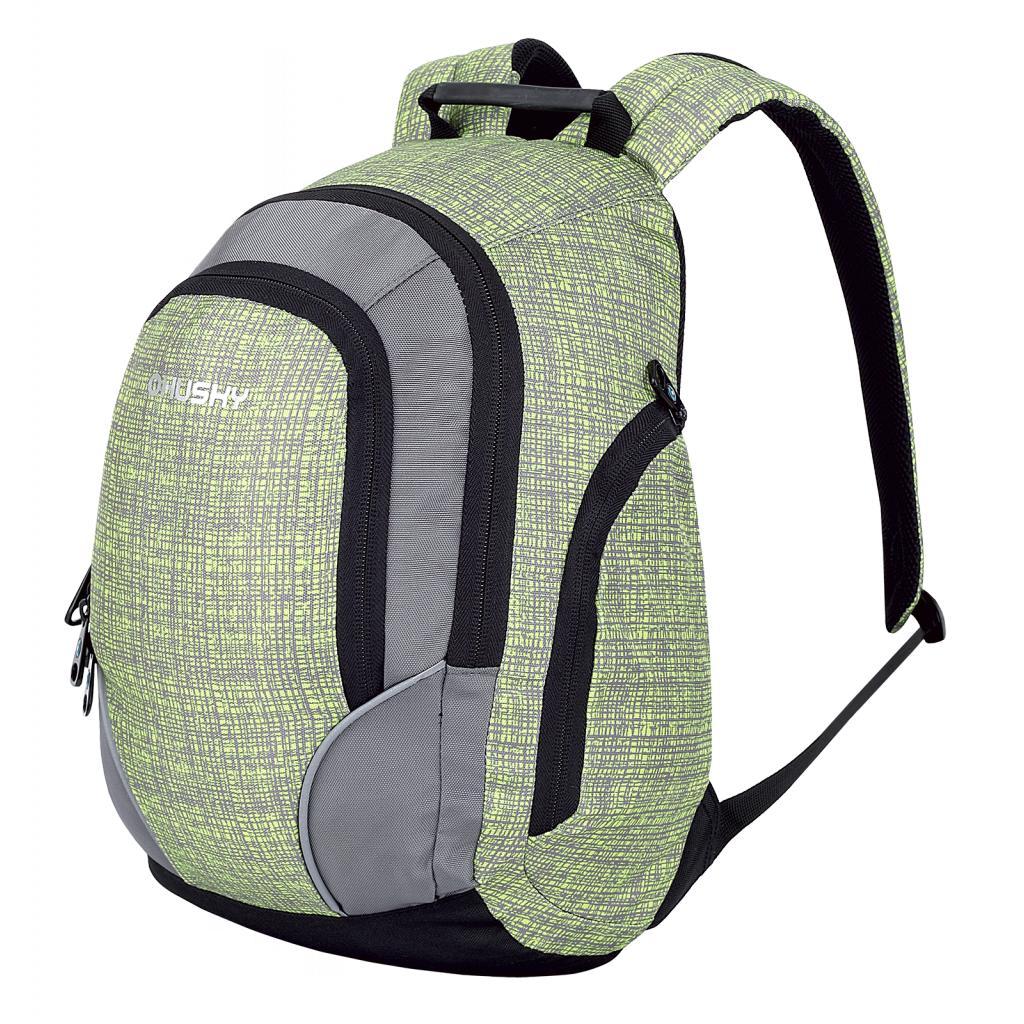 Рюкзак детский Husky JELLY, цвет: зеленый, серый, 10 лУТ-000067031Рюкзак городской (детский) JELLY 10.Объем: 10 литров;Материал: Полиэстер 600D, нейлон 420D W/P;Размер: 39 х 23 х 14 см; Вес: - 470 г.Особенности: водонепроницаемая ткань, система вентиляции спины AMS,органайзер, карман на молнии, боковые карманы,светоотражающие элементы.
