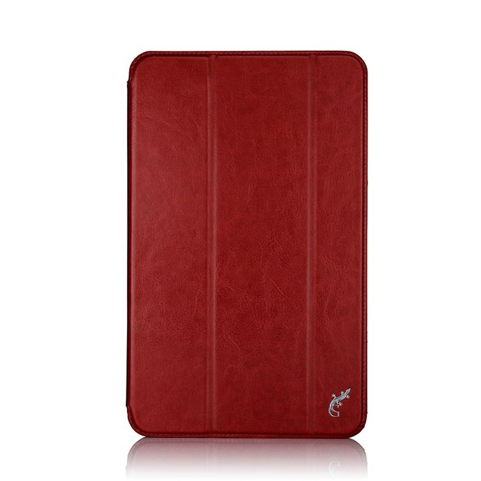 G-case Slim Premium чехол для Samsung Galaxy Tab A 10.1, RedGG-730Чехол G-case Slim Premium для планшета Samsung Galaxy Tab A 10.1 надежно защищает ваше устройство от случайных ударов и царапин, а так же от внешних воздействий, грязи, пыли и брызг. Крышку можно использовать в качестве настольной подставки для вашего устройства. Чехол приятен на ощупь и имеет стильный внешний вид.Он также обеспечивает свободный доступ ко всем функциональным кнопкам планшета и камере.