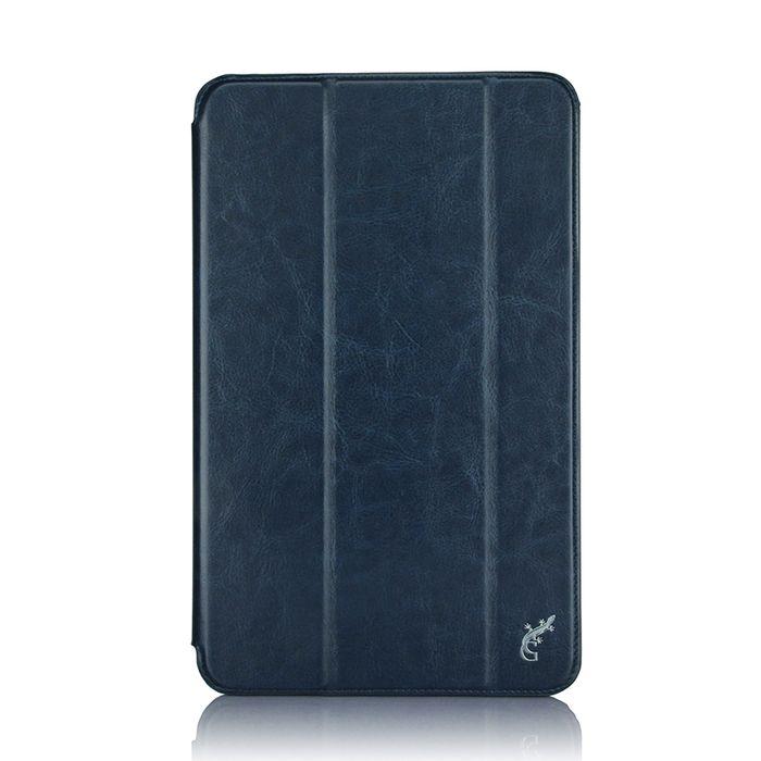 G-case Slim Premium чехол для Samsung Galaxy Tab A 10.1, Dark BlueGG-731Чехол G-case Slim Premium для планшета Samsung Galaxy Tab A 10.1 надежно защищает ваше устройство от случайных ударов и царапин, а так же от внешних воздействий, грязи, пыли и брызг. Крышку можно использовать в качестве настольной подставки для вашего устройства. Чехол приятен на ощупь и имеет стильный внешний вид.Он также обеспечивает свободный доступ ко всем функциональным кнопкам планшета и камере.