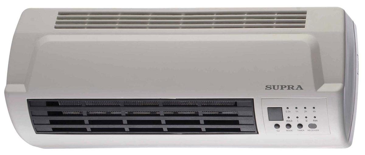 Supra WHS-2120, White тепловентиляторWHS-2120 whiteКерамический тепловентилятор Supra WHS-2120 с режимом холодного обдува. Современное управление, 2 мощности обогрева 1000 и 2000 Вт, дисплей с индикацией всех необходимых режимов и эргономичный пульт ДУ в комплекте делают эксплуатацию тепловентилятора по-настоящему удобной и приятной.Как выбрать обогреватель. Статья OZON Гид