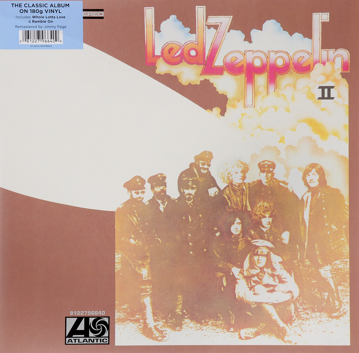 Led Zeppelin Led Zeppelin. Led Zeppelin II (LP) led zeppelin led zeppelin led zeppelin ii 2 lp