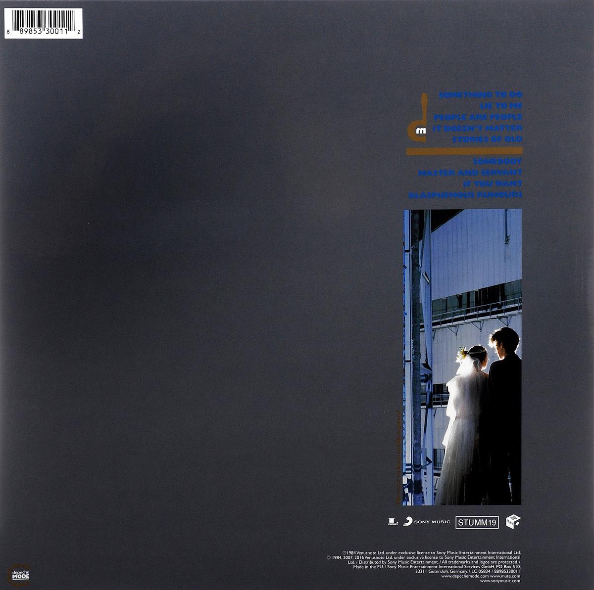 Depeche Mode.  Some Great Reward (LP) Sony Music Entertainment, Inc.,Warner Music