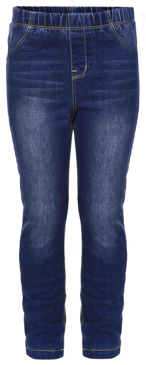 Джинсы для девочки Sela Denim, цвет: синий джинс. PJ-535/037-6342. Размер 98, 3 года