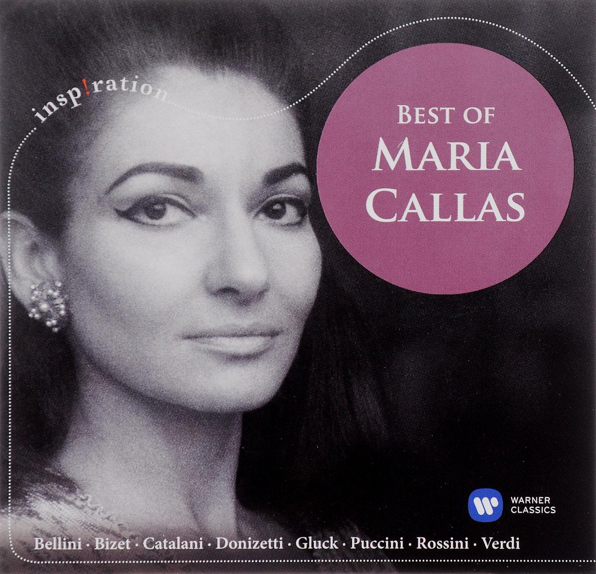 Мария Каллас Maria Callas. Best Of Maria Callas (CD) cd диск maria callas giuseppe di stefano tito gobbi chorus orchestra of the maggio musicale fiorentino tullio serafin donizetti g lucia di lammermoor 1953 original jacket card sleeves 2 cd