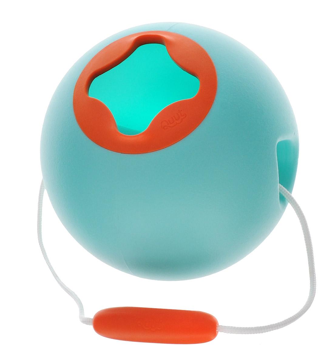 Quut Ведерко для воды Ballo цвет голубой dedo music gifts mg 308 pure handmade rotating guitar music box blue