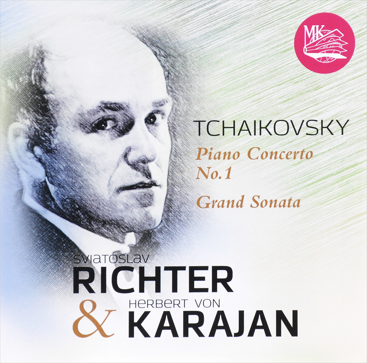 Герберт Караян,Святослав Рихтер Richter & Karajan. Tchaikovsky: Concerto No. 1 & Grand Sonata (CD) richter 12224255111 28